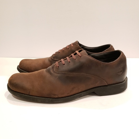 Chaussures woodhull leather oxford marron Timberland   La